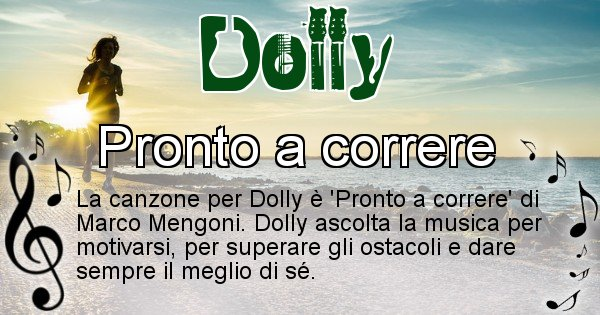 Dolly - Canzone ideale per Dolly