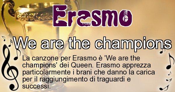 Erasmo - Canzone ideale per Erasmo