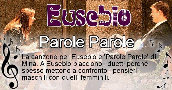 Eusebio - Canzone ideale per Eusebio