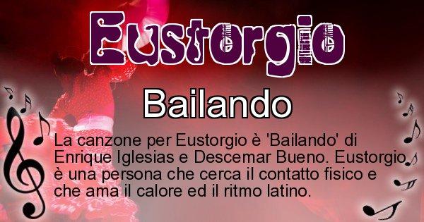 Eustorgio - Canzone ideale per Eustorgio