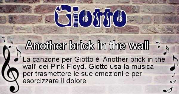 Giotto - Canzone ideale per Giotto