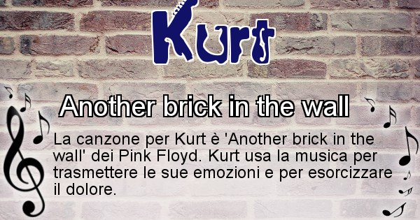Kurt - Canzone ideale per Kurt