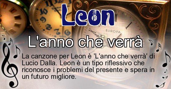 Leon - Canzone ideale per Leon