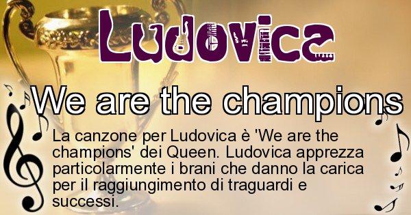 Ludovica - Canzone ideale per Ludovica