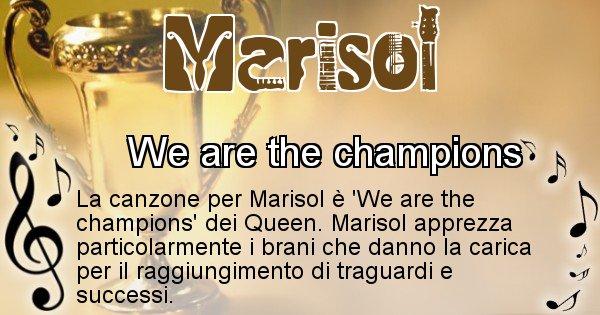 Marisol - Canzone ideale per Marisol