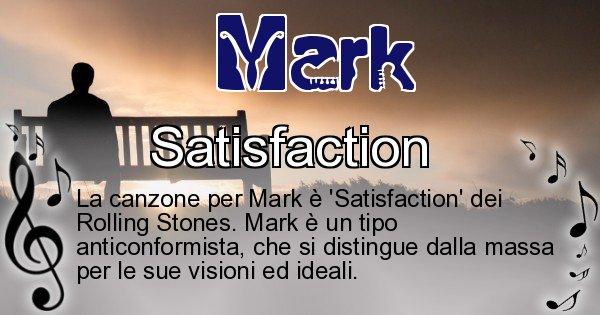 Mark - Canzone ideale per Mark
