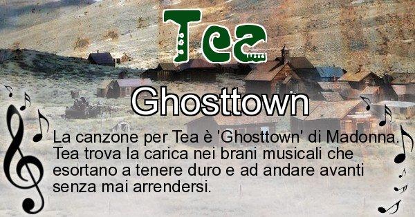 Tea - Canzone ideale per Tea