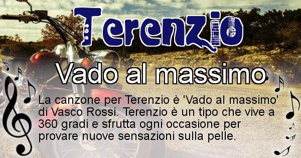 Terenzio - Canzone ideale per Terenzio