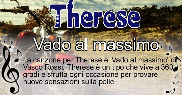 Therese - Canzone ideale per Therese