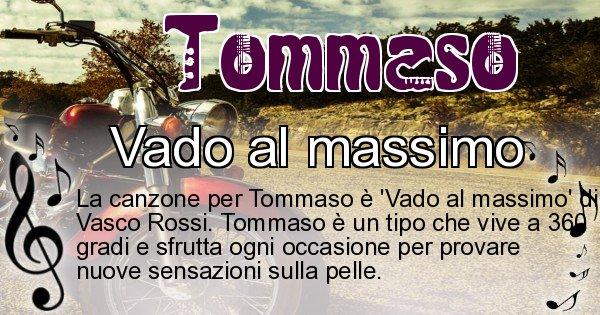 Tommaso - Canzone ideale per Tommaso