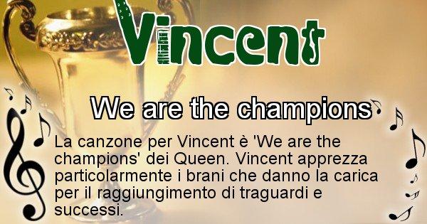 Vincent - Canzone ideale per Vincent