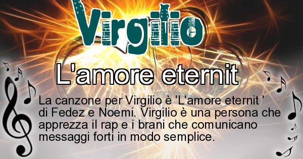 Virgilio - Canzone ideale per Virgilio