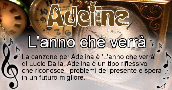 Adelina - Canzone del Cognome Adelina
