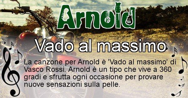 Arnold - Canzone del Cognome Arnold