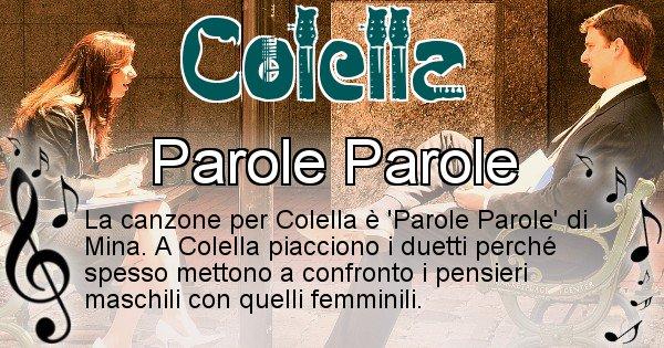 Colella - Canzone del Cognome Colella