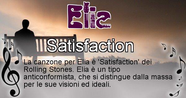 Elia - Canzone del Cognome Elia