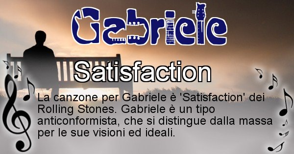 Gabriele - Canzone del Cognome Gabriele