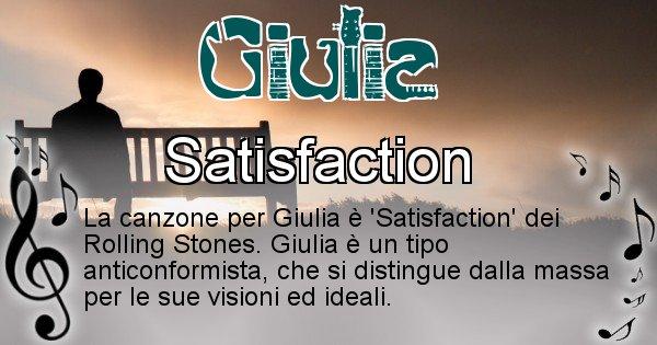 Giulia - Canzone del Cognome Giulia