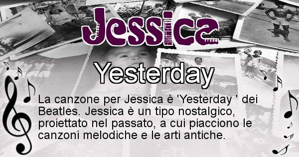 Jessica - Canzone del Cognome Jessica