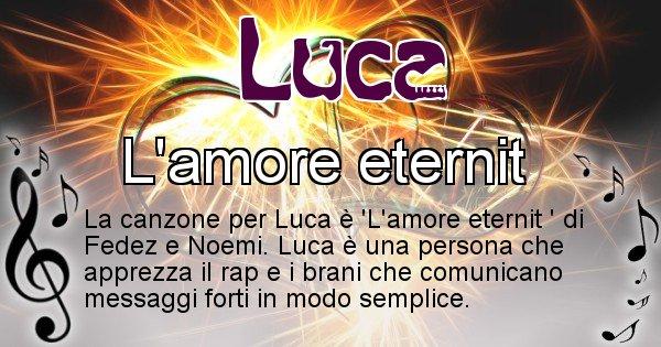 Luca - Canzone del Cognome Luca