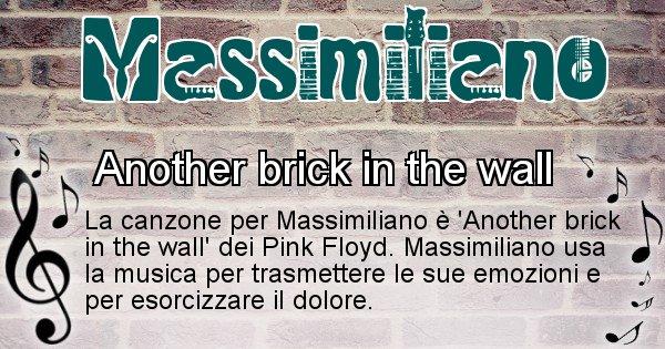 Massimiliano - Canzone del Cognome Massimiliano