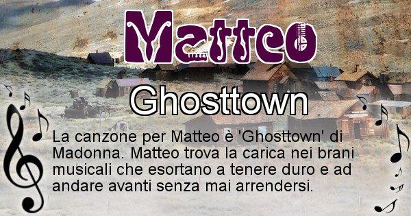 Matteo - Canzone del Cognome Matteo