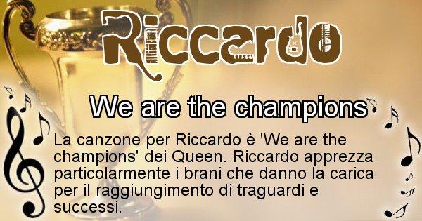 Riccardo - Canzone del Cognome Riccardo