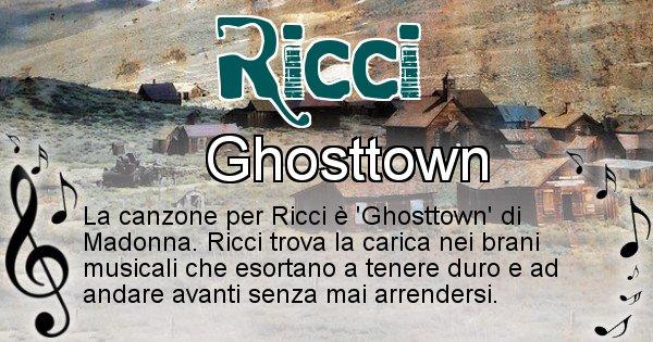 Ricci - Canzone del Cognome Ricci