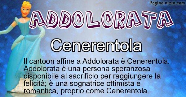 Addolorata - Personaggio dei cartoni associato a Addolorata