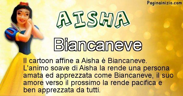Aisha - Personaggio dei cartoni associato a Aisha