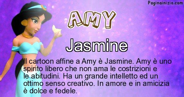 Amy - Personaggio dei cartoni associato a Amy