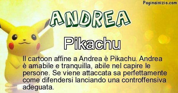 Andrea - Personaggio dei cartoni associato a Andrea
