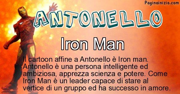 Antonello - Personaggio dei cartoni associato a Antonello