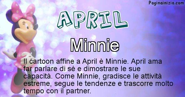 April - Personaggio dei cartoni associato a April