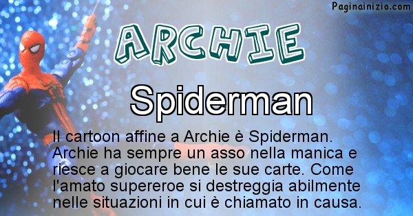 Archie - Personaggio dei cartoni associato a Archie