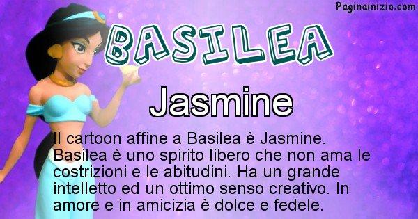Basilea - Personaggio dei cartoni associato a Basilea