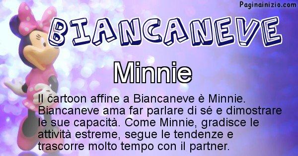Biancaneve - Personaggio dei cartoni associato a Biancaneve