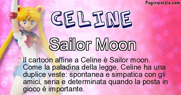 Celine - Personaggio dei cartoni associato a Celine