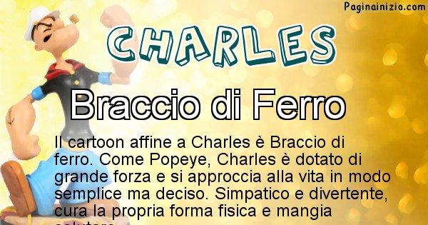 Charles - Personaggio dei cartoni associato a Charles