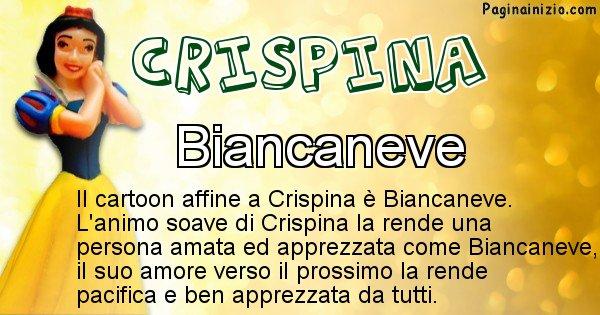 Crispina - Personaggio dei cartoni associato a Crispina