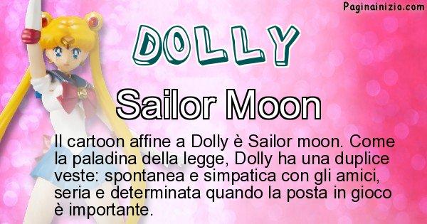 Dolly - Personaggio dei cartoni associato a Dolly
