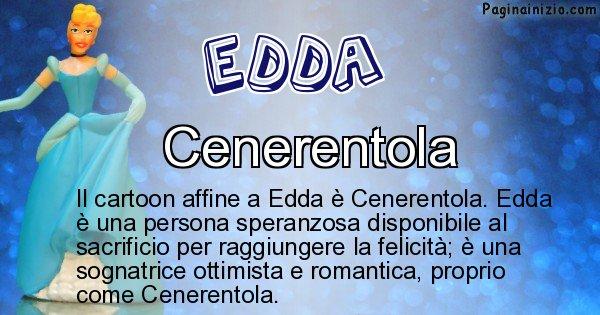 Edda - Personaggio dei cartoni associato a Edda