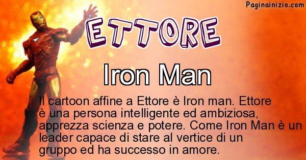 Ettore - Personaggio dei cartoni associato a Ettore