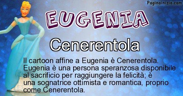 Eugenia - Personaggio dei cartoni associato a Eugenia