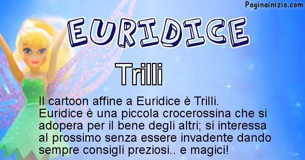 Euridice - Personaggio dei cartoni associato a Euridice