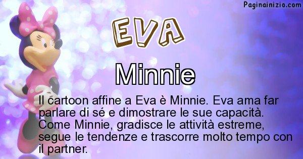 Eva - Personaggio dei cartoni associato a Eva