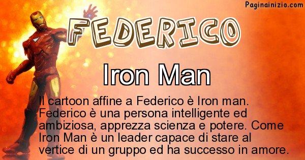 Federico - Personaggio dei cartoni associato a Federico