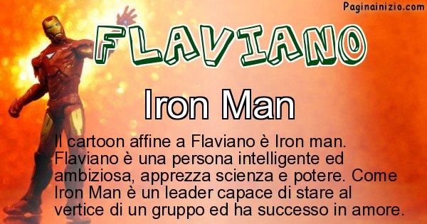 Flaviano - Personaggio dei cartoni associato a Flaviano