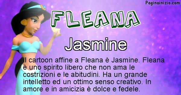 Fleana - Personaggio dei cartoni associato a Fleana