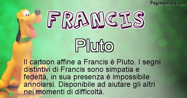 Francis - Personaggio dei cartoni associato a Francis
